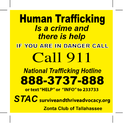 STAC is now a referral agency for the National Human Trafficking Hotline