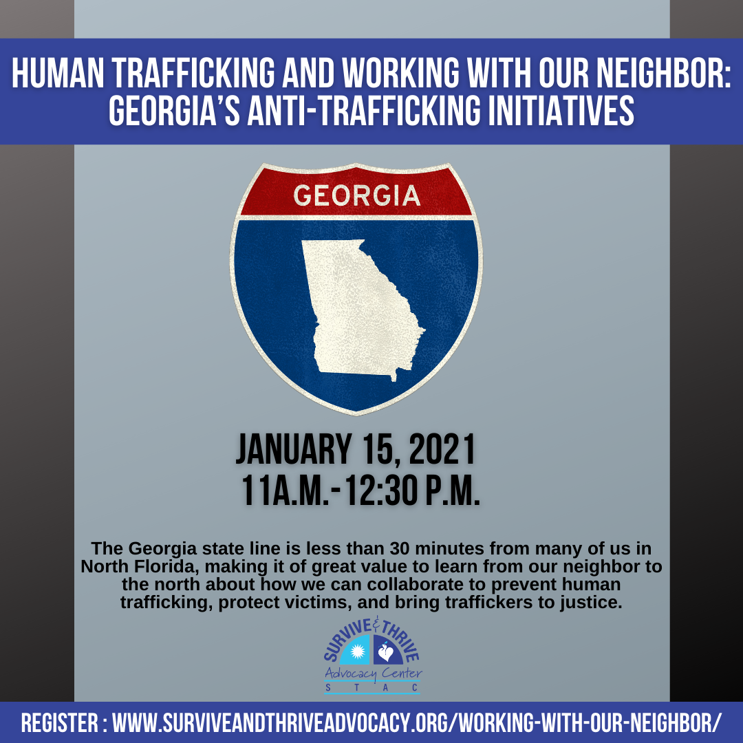 Human Trafficking and Working with our Neighbor