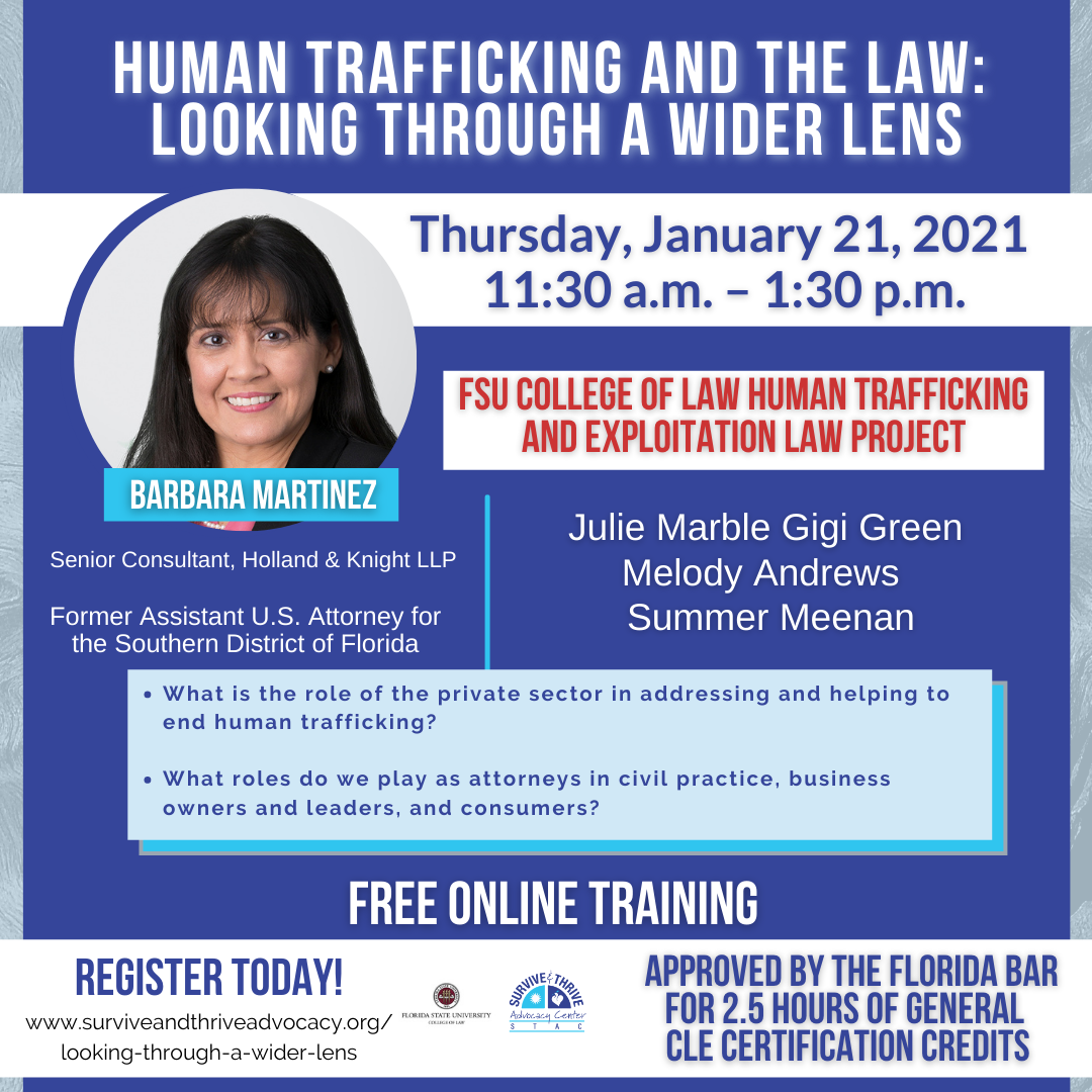 Human Trafficking and the Law