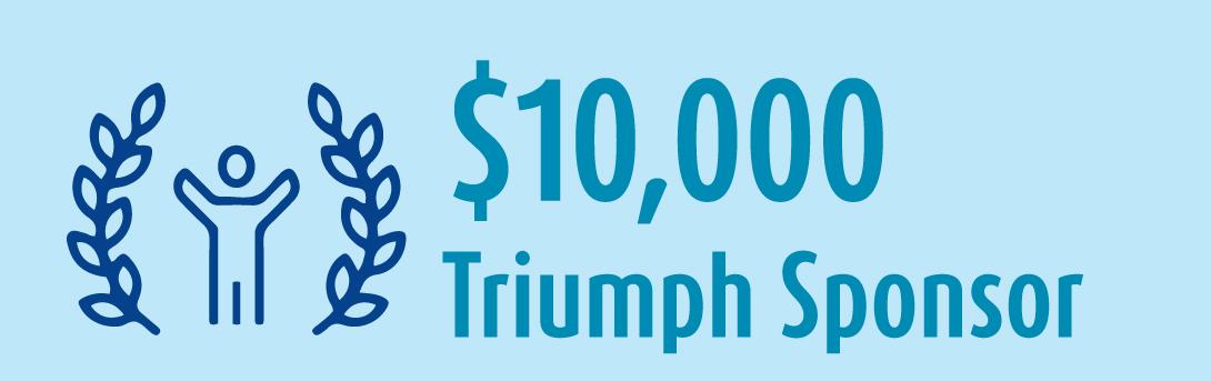 10k Triumph Sponsor banner