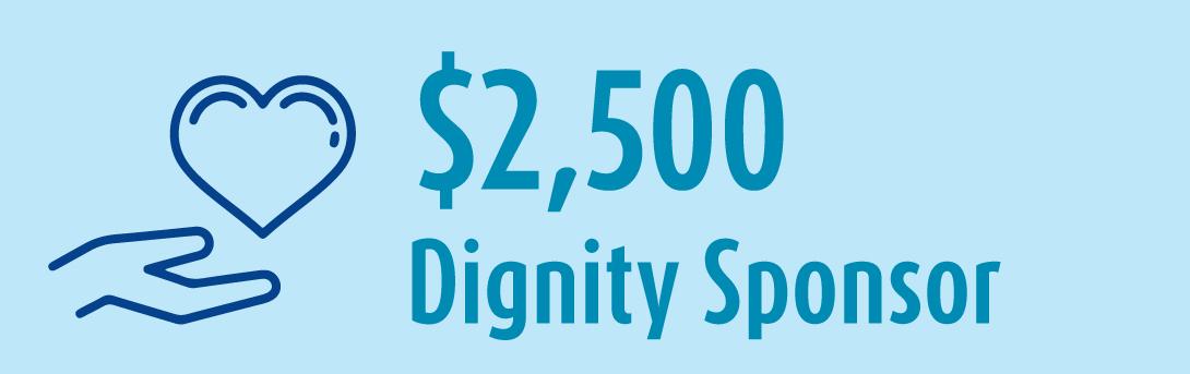 2 5k Dignity Sponsor banner