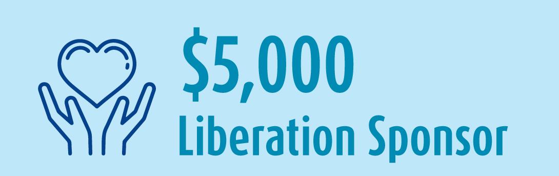 5k Liberation Sponsor banner