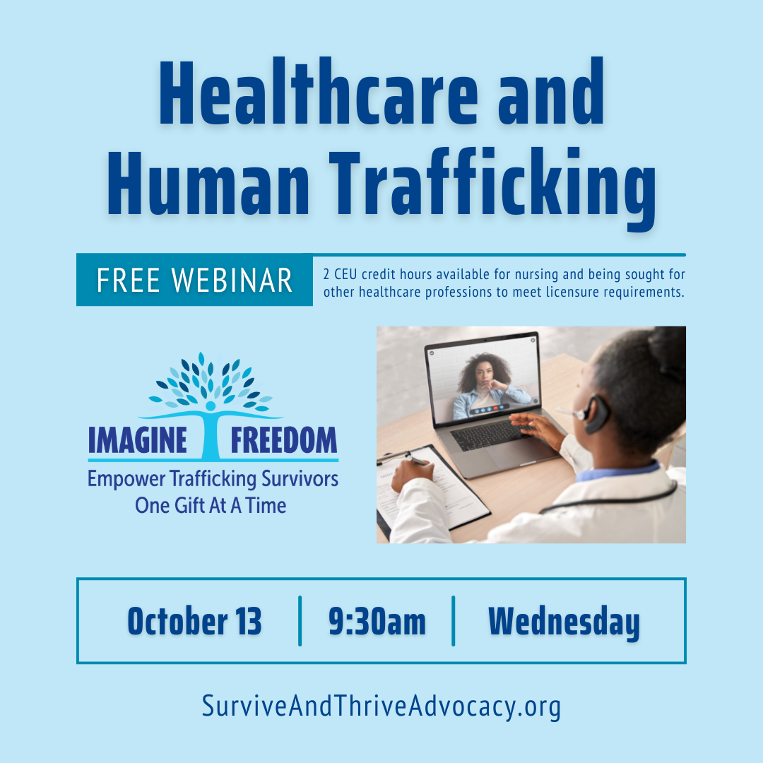 Imagine Freedom Healthcare and Human Trafficking